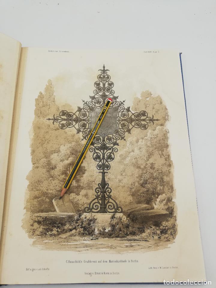 Libros antiguos: L´ARCHITECTURE ALLEMANDE AU XIX SIECLE. RECUELL DE MASIONS DE VILLE ET DE CAMPAGNE. 9 TOMOS.VER.LEER - Foto 51 - 267903714