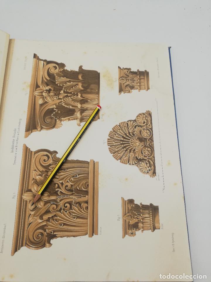 Libros antiguos: L´ARCHITECTURE ALLEMANDE AU XIX SIECLE. RECUELL DE MASIONS DE VILLE ET DE CAMPAGNE. 9 TOMOS.VER.LEER - Foto 53 - 267903714