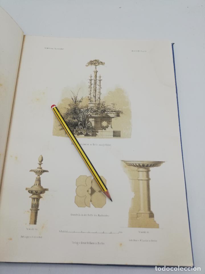 Libros antiguos: L´ARCHITECTURE ALLEMANDE AU XIX SIECLE. RECUELL DE MASIONS DE VILLE ET DE CAMPAGNE. 9 TOMOS.VER.LEER - Foto 55 - 267903714