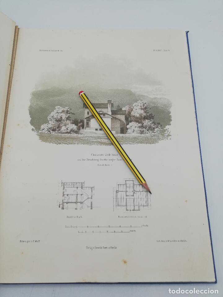 Libros antiguos: L´ARCHITECTURE ALLEMANDE AU XIX SIECLE. RECUELL DE MASIONS DE VILLE ET DE CAMPAGNE. 9 TOMOS.VER.LEER - Foto 58 - 267903714