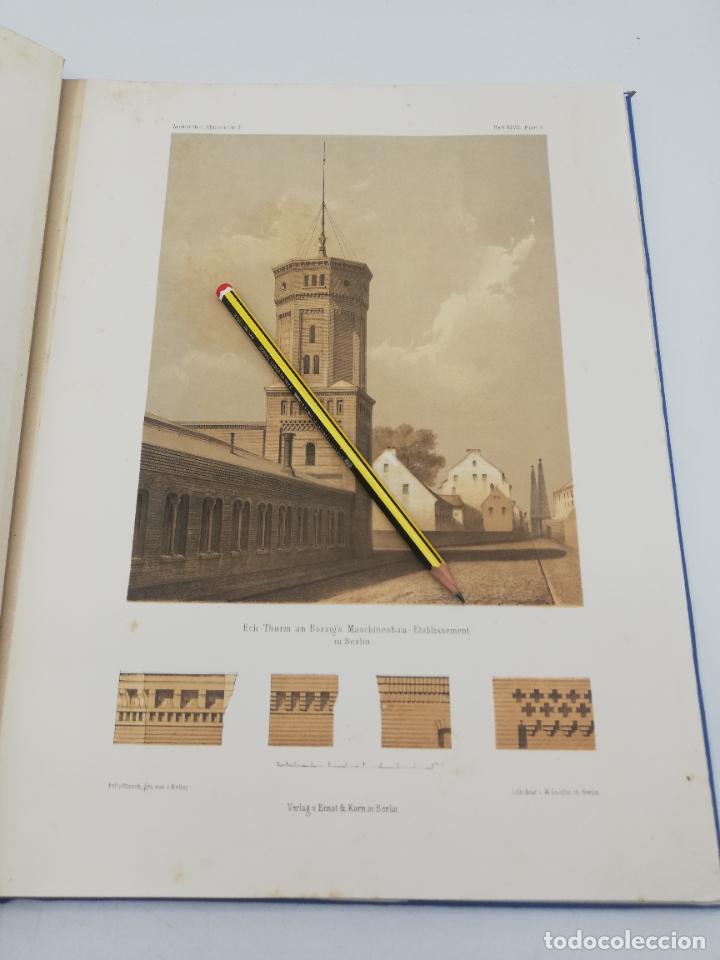 Libros antiguos: L´ARCHITECTURE ALLEMANDE AU XIX SIECLE. RECUELL DE MASIONS DE VILLE ET DE CAMPAGNE. 9 TOMOS.VER.LEER - Foto 59 - 267903714