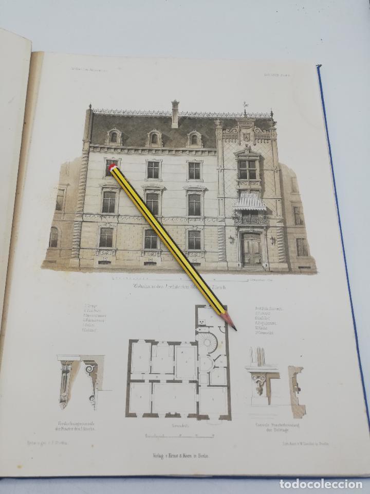 Libros antiguos: L´ARCHITECTURE ALLEMANDE AU XIX SIECLE. RECUELL DE MASIONS DE VILLE ET DE CAMPAGNE. 9 TOMOS.VER.LEER - Foto 61 - 267903714