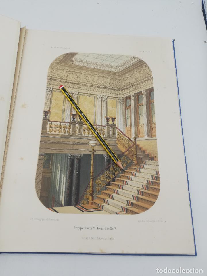 Libros antiguos: L´ARCHITECTURE ALLEMANDE AU XIX SIECLE. RECUELL DE MASIONS DE VILLE ET DE CAMPAGNE. 9 TOMOS.VER.LEER - Foto 62 - 267903714