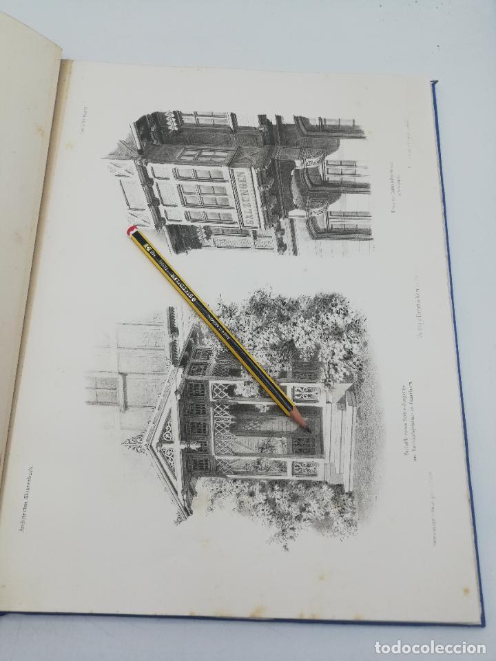 Libros antiguos: L´ARCHITECTURE ALLEMANDE AU XIX SIECLE. RECUELL DE MASIONS DE VILLE ET DE CAMPAGNE. 9 TOMOS.VER.LEER - Foto 63 - 267903714