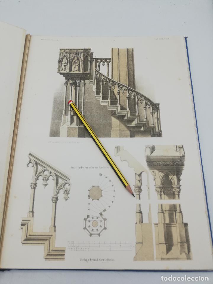 Libros antiguos: L´ARCHITECTURE ALLEMANDE AU XIX SIECLE. RECUELL DE MASIONS DE VILLE ET DE CAMPAGNE. 9 TOMOS.VER.LEER - Foto 66 - 267903714