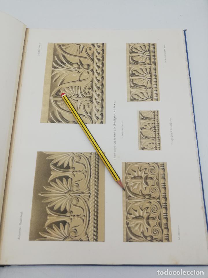 Libros antiguos: L´ARCHITECTURE ALLEMANDE AU XIX SIECLE. RECUELL DE MASIONS DE VILLE ET DE CAMPAGNE. 9 TOMOS.VER.LEER - Foto 67 - 267903714