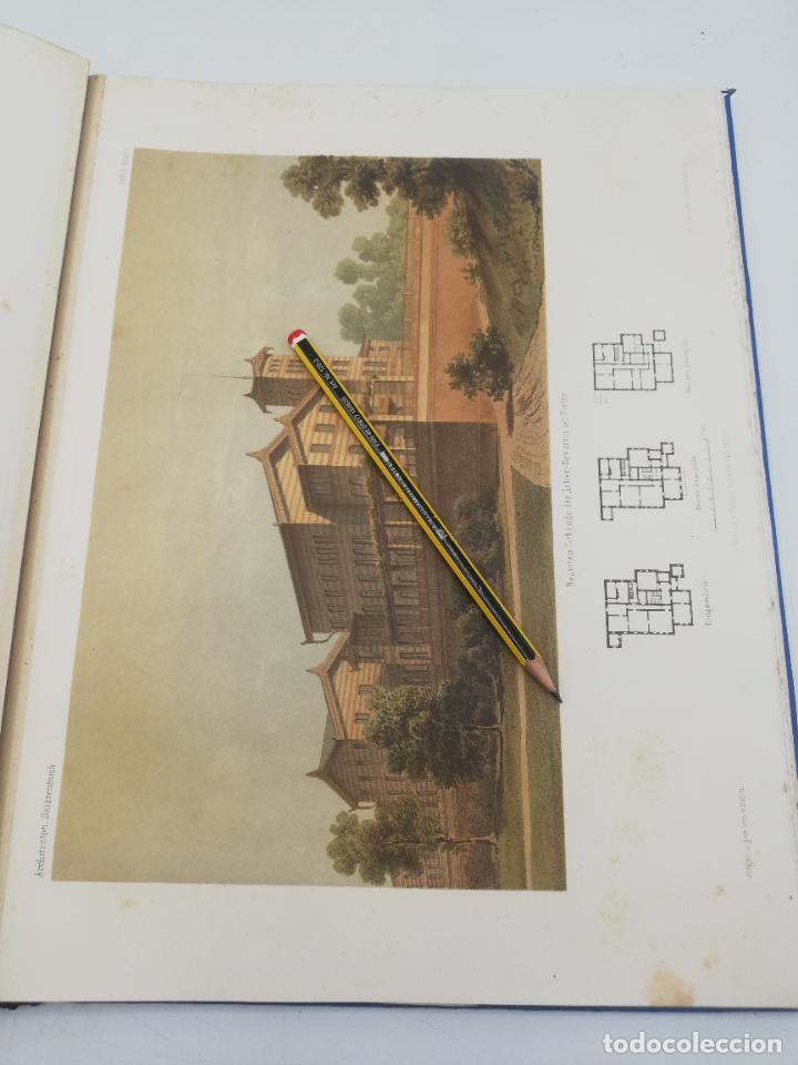 Libros antiguos: L´ARCHITECTURE ALLEMANDE AU XIX SIECLE. RECUELL DE MASIONS DE VILLE ET DE CAMPAGNE. 9 TOMOS.VER.LEER - Foto 68 - 267903714