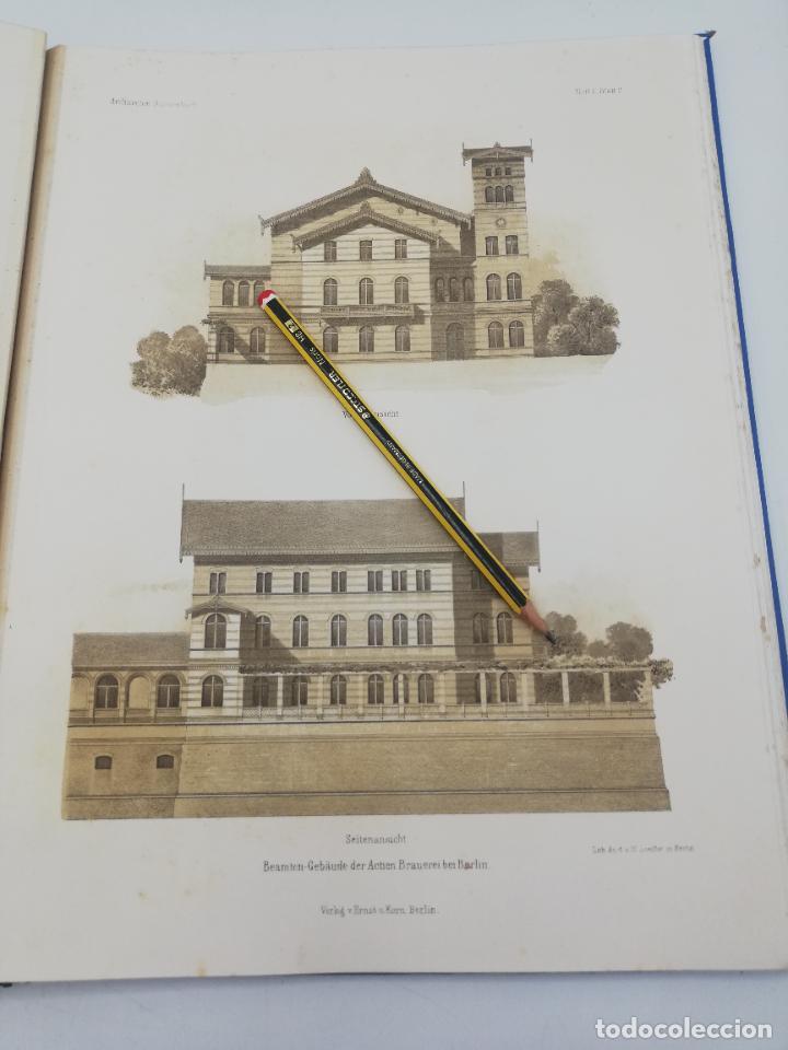 Libros antiguos: L´ARCHITECTURE ALLEMANDE AU XIX SIECLE. RECUELL DE MASIONS DE VILLE ET DE CAMPAGNE. 9 TOMOS.VER.LEER - Foto 69 - 267903714