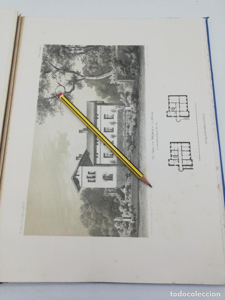Libros antiguos: L´ARCHITECTURE ALLEMANDE AU XIX SIECLE. RECUELL DE MASIONS DE VILLE ET DE CAMPAGNE. 9 TOMOS.VER.LEER - Foto 70 - 267903714