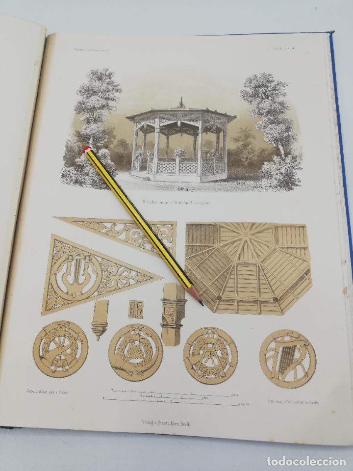 Libros antiguos: L´ARCHITECTURE ALLEMANDE AU XIX SIECLE. RECUELL DE MASIONS DE VILLE ET DE CAMPAGNE. 9 TOMOS.VER.LEER - Foto 71 - 267903714