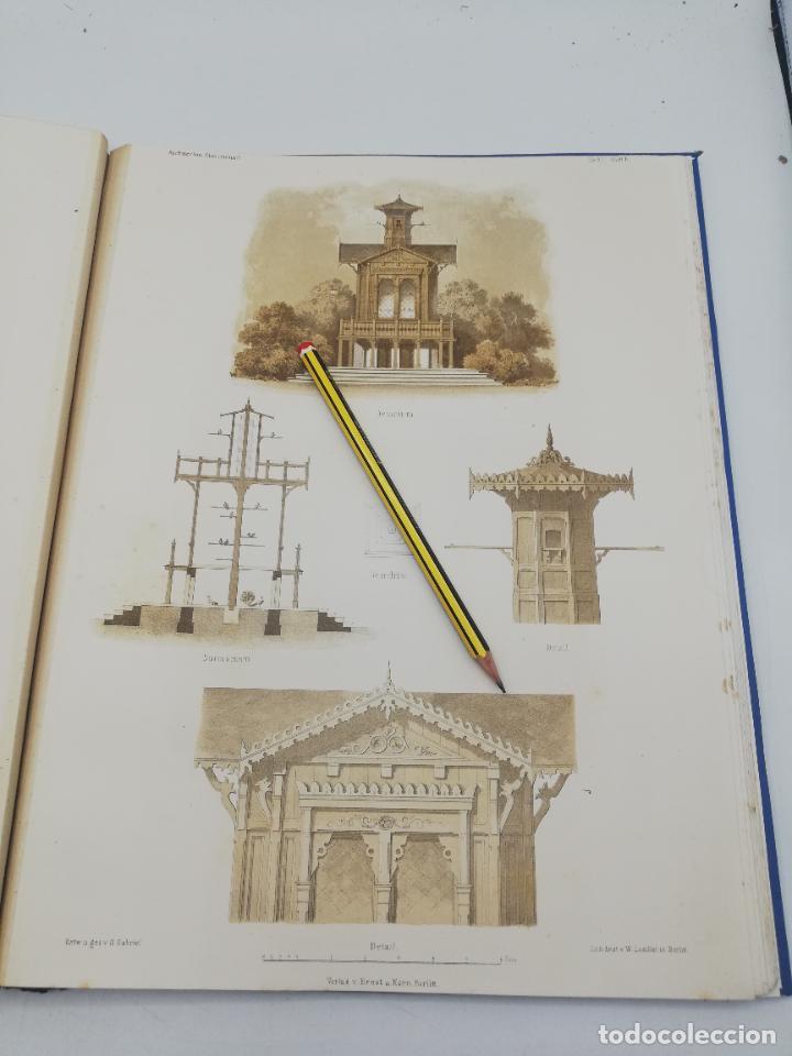 Libros antiguos: L´ARCHITECTURE ALLEMANDE AU XIX SIECLE. RECUELL DE MASIONS DE VILLE ET DE CAMPAGNE. 9 TOMOS.VER.LEER - Foto 73 - 267903714