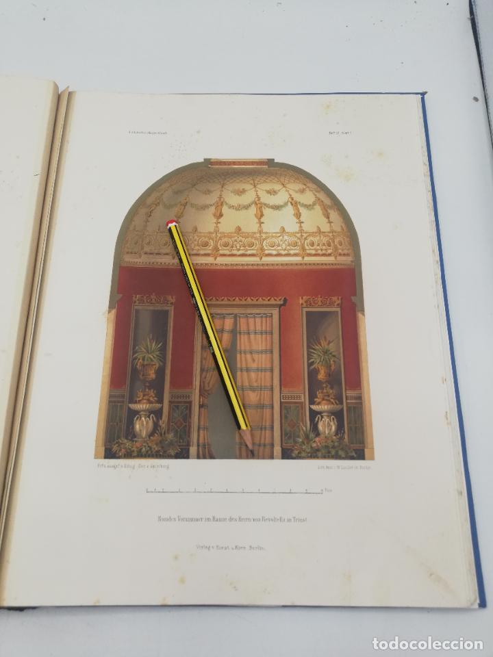 Libros antiguos: L´ARCHITECTURE ALLEMANDE AU XIX SIECLE. RECUELL DE MASIONS DE VILLE ET DE CAMPAGNE. 9 TOMOS.VER.LEER - Foto 74 - 267903714