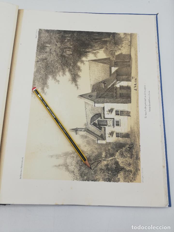 Libros antiguos: L´ARCHITECTURE ALLEMANDE AU XIX SIECLE. RECUELL DE MASIONS DE VILLE ET DE CAMPAGNE. 9 TOMOS.VER.LEER - Foto 75 - 267903714