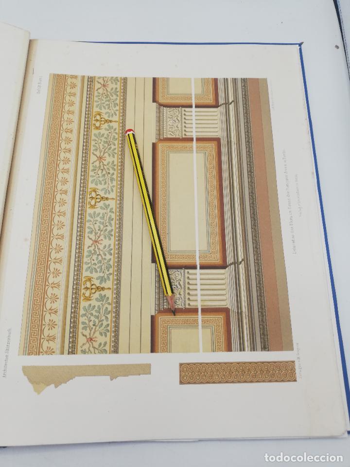 Libros antiguos: L´ARCHITECTURE ALLEMANDE AU XIX SIECLE. RECUELL DE MASIONS DE VILLE ET DE CAMPAGNE. 9 TOMOS.VER.LEER - Foto 80 - 267903714
