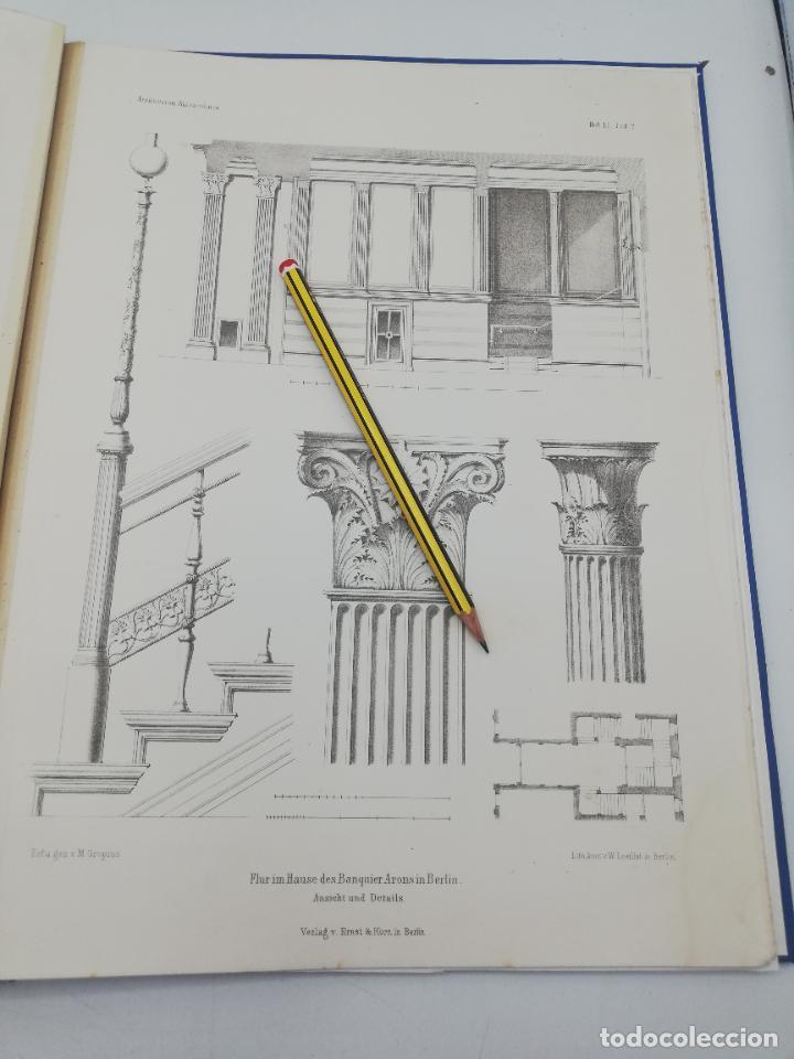 Libros antiguos: L´ARCHITECTURE ALLEMANDE AU XIX SIECLE. RECUELL DE MASIONS DE VILLE ET DE CAMPAGNE. 9 TOMOS.VER.LEER - Foto 81 - 267903714