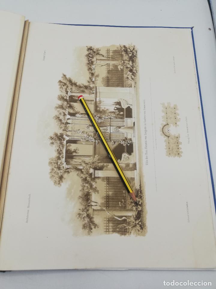 Libros antiguos: L´ARCHITECTURE ALLEMANDE AU XIX SIECLE. RECUELL DE MASIONS DE VILLE ET DE CAMPAGNE. 9 TOMOS.VER.LEER - Foto 82 - 267903714