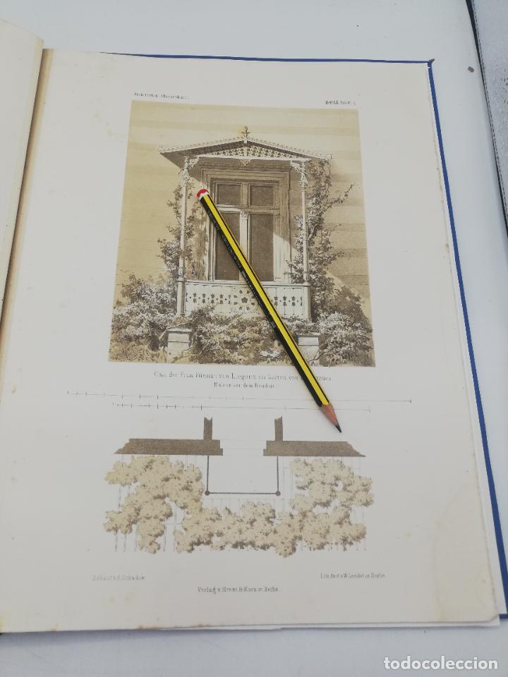 Libros antiguos: L´ARCHITECTURE ALLEMANDE AU XIX SIECLE. RECUELL DE MASIONS DE VILLE ET DE CAMPAGNE. 9 TOMOS.VER.LEER - Foto 83 - 267903714
