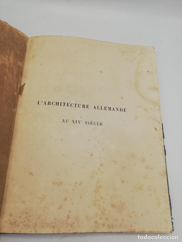 Libros antiguos: L´ARCHITECTURE ALLEMANDE AU XIX SIECLE. RECUELL DE MASIONS DE VILLE ET DE CAMPAGNE. 9 TOMOS.VER.LEER - Foto 88 - 267903714