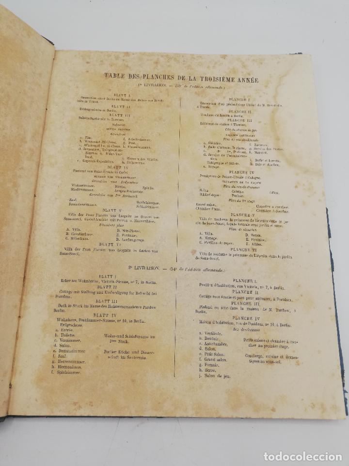Libros antiguos: L´ARCHITECTURE ALLEMANDE AU XIX SIECLE. RECUELL DE MASIONS DE VILLE ET DE CAMPAGNE. 9 TOMOS.VER.LEER - Foto 90 - 267903714