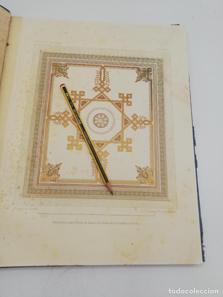 Libros antiguos: L´ARCHITECTURE ALLEMANDE AU XIX SIECLE. RECUELL DE MASIONS DE VILLE ET DE CAMPAGNE. 9 TOMOS.VER.LEER - Foto 91 - 267903714