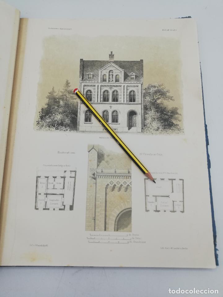 Libros antiguos: L´ARCHITECTURE ALLEMANDE AU XIX SIECLE. RECUELL DE MASIONS DE VILLE ET DE CAMPAGNE. 9 TOMOS.VER.LEER - Foto 93 - 267903714