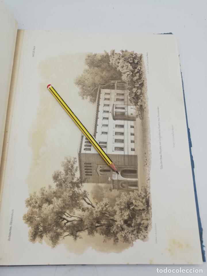 Libros antiguos: L´ARCHITECTURE ALLEMANDE AU XIX SIECLE. RECUELL DE MASIONS DE VILLE ET DE CAMPAGNE. 9 TOMOS.VER.LEER - Foto 94 - 267903714
