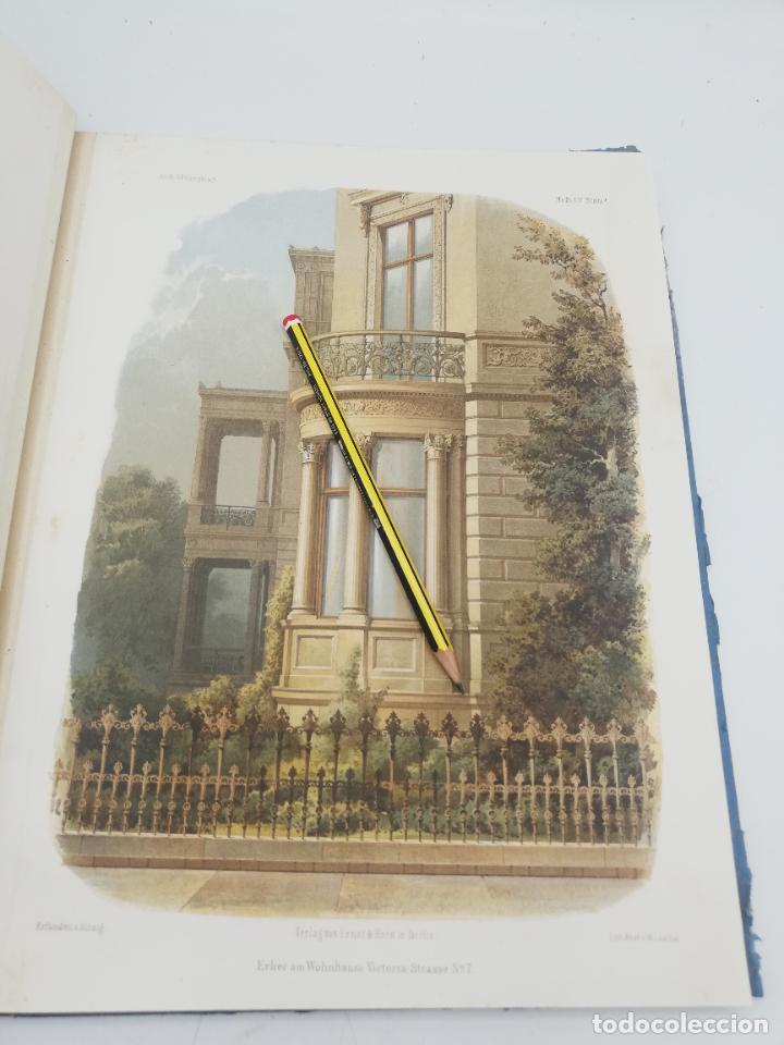 Libros antiguos: L´ARCHITECTURE ALLEMANDE AU XIX SIECLE. RECUELL DE MASIONS DE VILLE ET DE CAMPAGNE. 9 TOMOS.VER.LEER - Foto 95 - 267903714