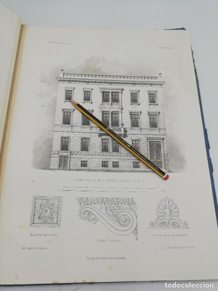 Libros antiguos: L´ARCHITECTURE ALLEMANDE AU XIX SIECLE. RECUELL DE MASIONS DE VILLE ET DE CAMPAGNE. 9 TOMOS.VER.LEER - Foto 99 - 267903714