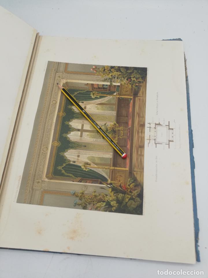 Libros antiguos: L´ARCHITECTURE ALLEMANDE AU XIX SIECLE. RECUELL DE MASIONS DE VILLE ET DE CAMPAGNE. 9 TOMOS.VER.LEER - Foto 101 - 267903714
