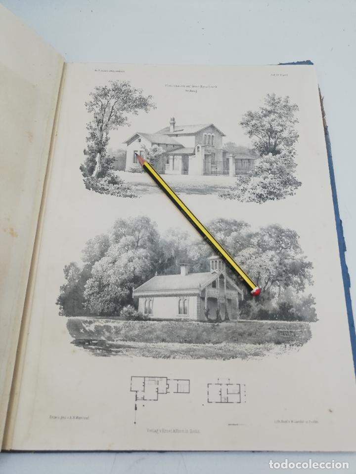 Libros antiguos: L´ARCHITECTURE ALLEMANDE AU XIX SIECLE. RECUELL DE MASIONS DE VILLE ET DE CAMPAGNE. 9 TOMOS.VER.LEER - Foto 102 - 267903714