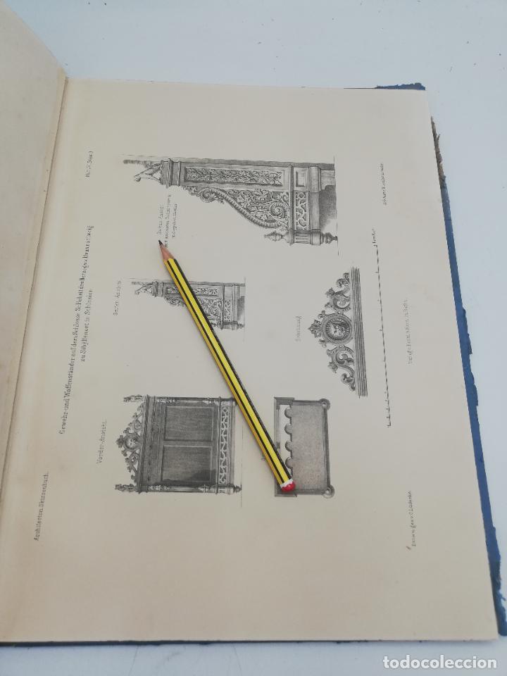 Libros antiguos: L´ARCHITECTURE ALLEMANDE AU XIX SIECLE. RECUELL DE MASIONS DE VILLE ET DE CAMPAGNE. 9 TOMOS.VER.LEER - Foto 103 - 267903714