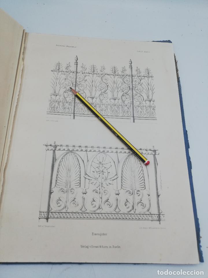 Libros antiguos: L´ARCHITECTURE ALLEMANDE AU XIX SIECLE. RECUELL DE MASIONS DE VILLE ET DE CAMPAGNE. 9 TOMOS.VER.LEER - Foto 104 - 267903714
