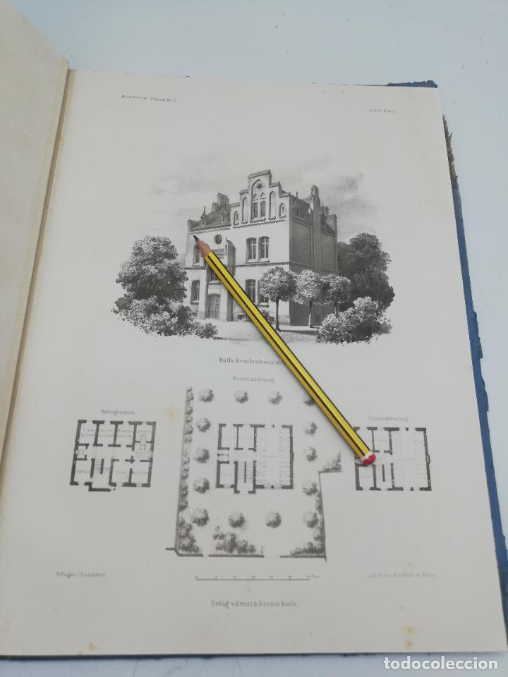 Libros antiguos: L´ARCHITECTURE ALLEMANDE AU XIX SIECLE. RECUELL DE MASIONS DE VILLE ET DE CAMPAGNE. 9 TOMOS.VER.LEER - Foto 105 - 267903714