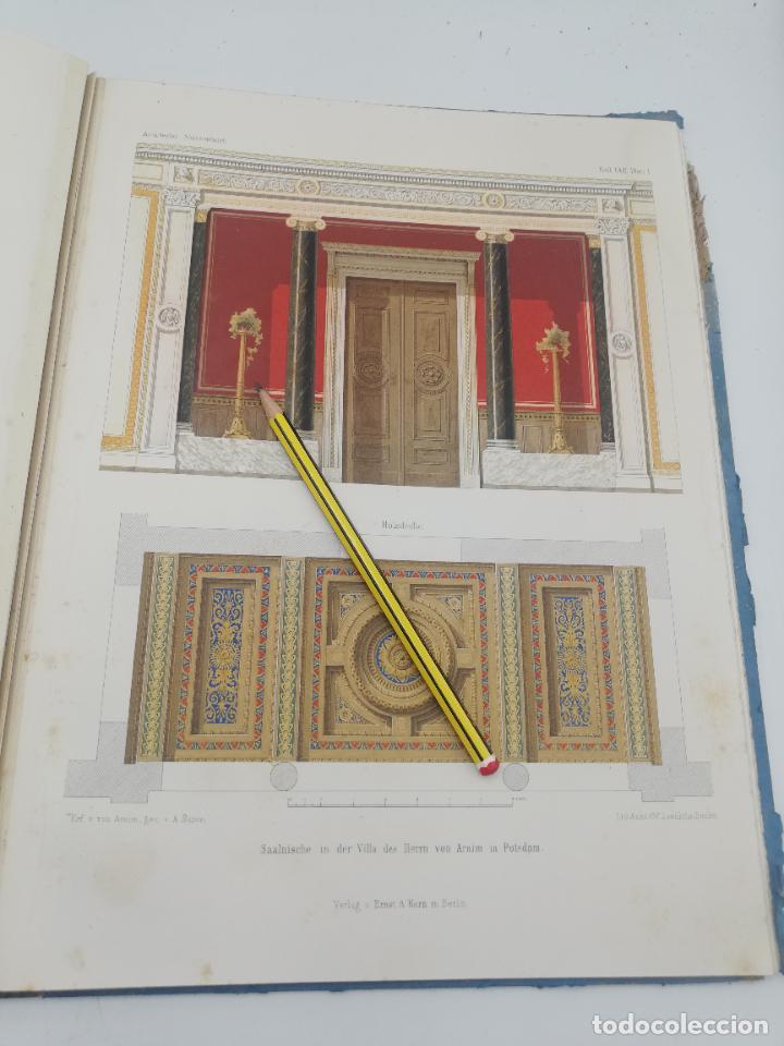 Libros antiguos: L´ARCHITECTURE ALLEMANDE AU XIX SIECLE. RECUELL DE MASIONS DE VILLE ET DE CAMPAGNE. 9 TOMOS.VER.LEER - Foto 112 - 267903714