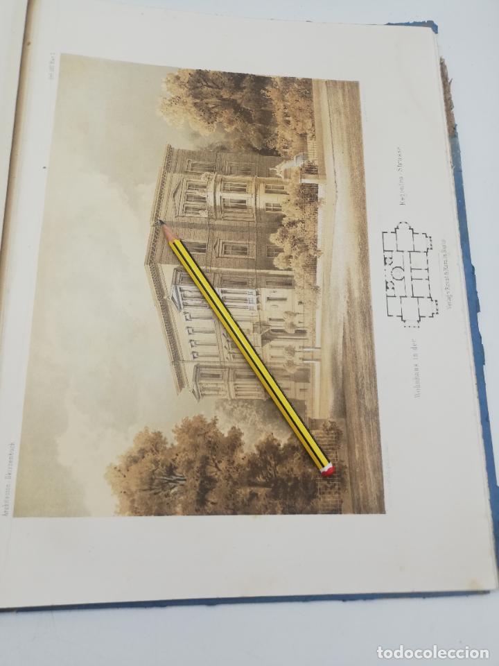 Libros antiguos: L´ARCHITECTURE ALLEMANDE AU XIX SIECLE. RECUELL DE MASIONS DE VILLE ET DE CAMPAGNE. 9 TOMOS.VER.LEER - Foto 113 - 267903714