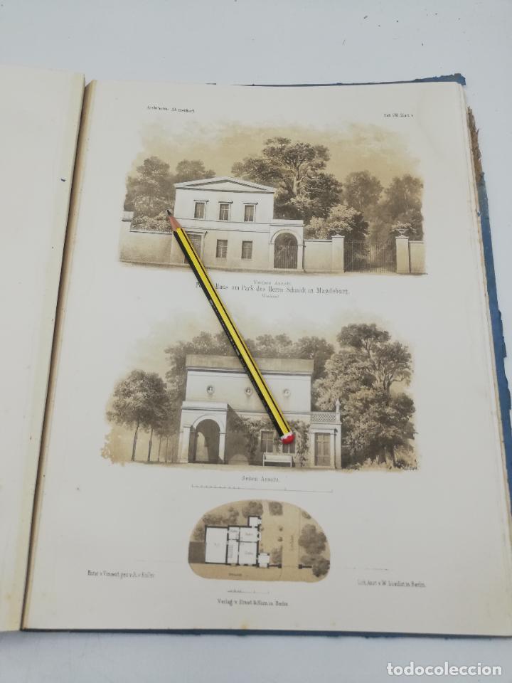 Libros antiguos: L´ARCHITECTURE ALLEMANDE AU XIX SIECLE. RECUELL DE MASIONS DE VILLE ET DE CAMPAGNE. 9 TOMOS.VER.LEER - Foto 115 - 267903714