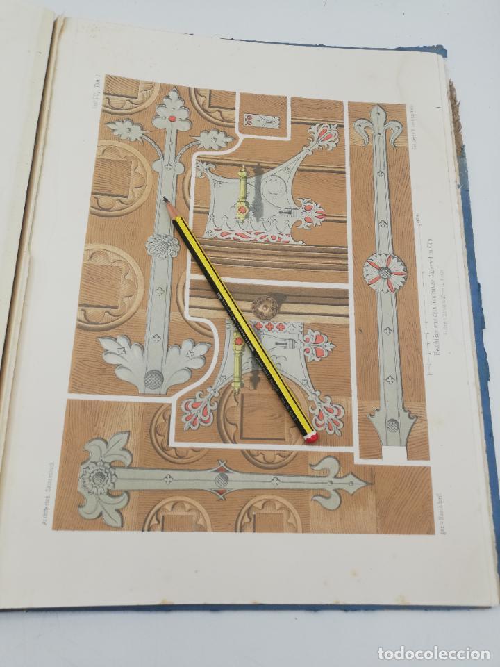 Libros antiguos: L´ARCHITECTURE ALLEMANDE AU XIX SIECLE. RECUELL DE MASIONS DE VILLE ET DE CAMPAGNE. 9 TOMOS.VER.LEER - Foto 117 - 267903714