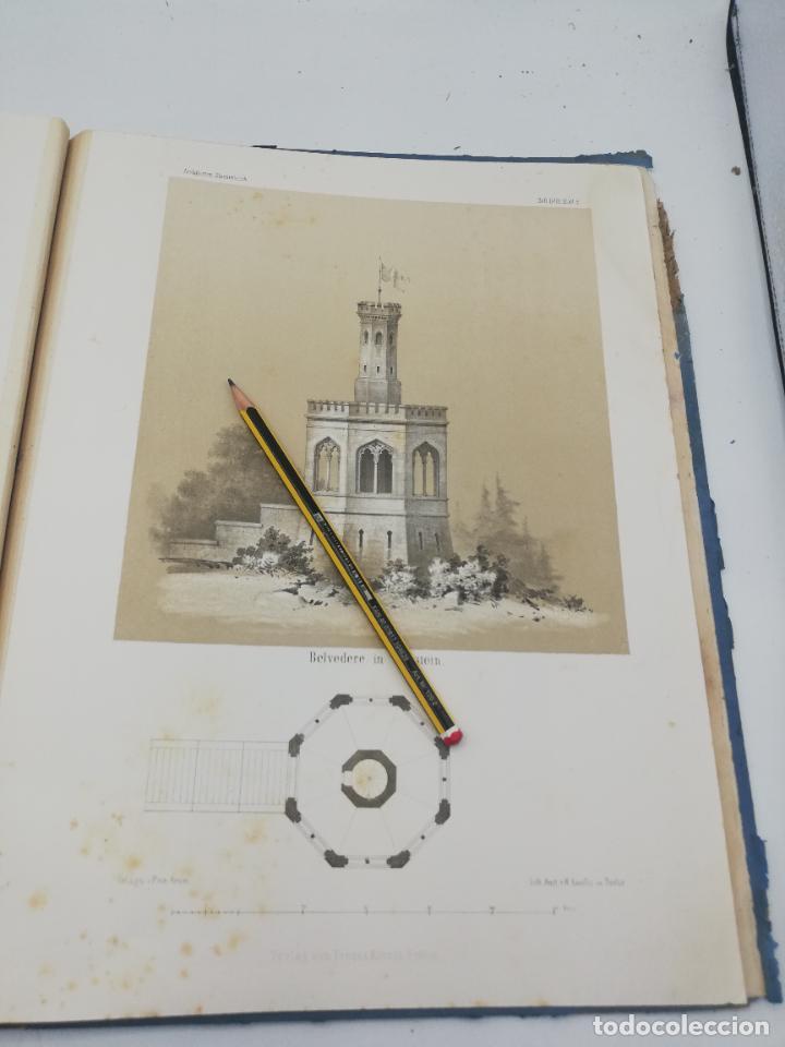 Libros antiguos: L´ARCHITECTURE ALLEMANDE AU XIX SIECLE. RECUELL DE MASIONS DE VILLE ET DE CAMPAGNE. 9 TOMOS.VER.LEER - Foto 120 - 267903714