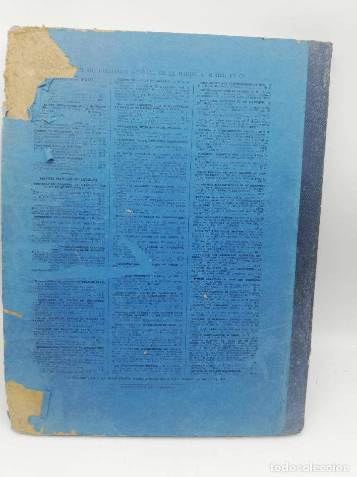 Libros antiguos: L´ARCHITECTURE ALLEMANDE AU XIX SIECLE. RECUELL DE MASIONS DE VILLE ET DE CAMPAGNE. 9 TOMOS.VER.LEER - Foto 122 - 267903714