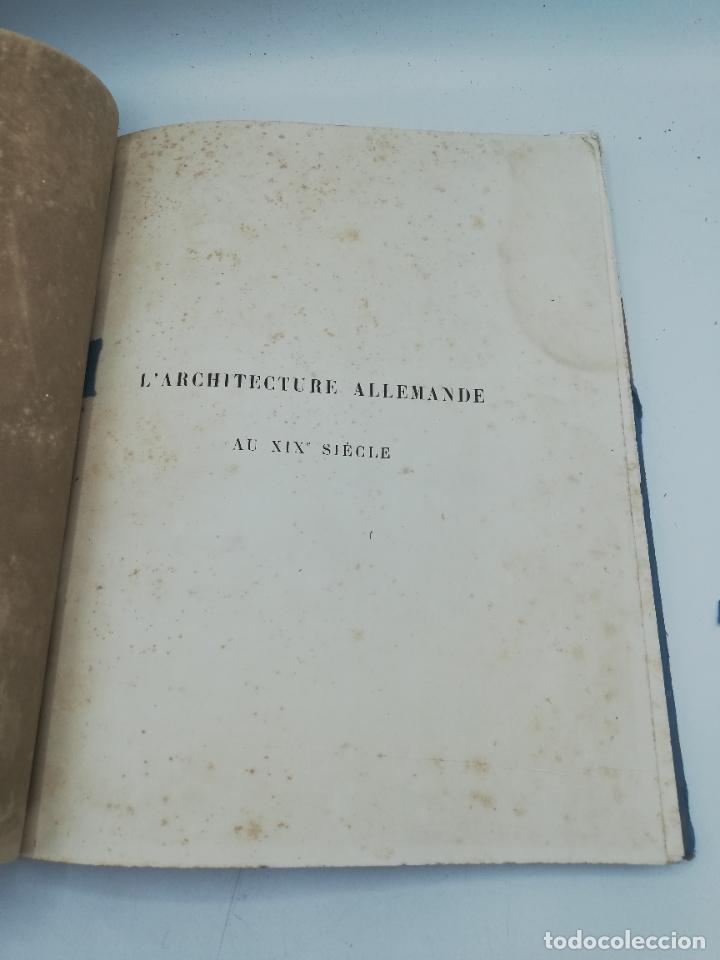 Libros antiguos: L´ARCHITECTURE ALLEMANDE AU XIX SIECLE. RECUELL DE MASIONS DE VILLE ET DE CAMPAGNE. 9 TOMOS.VER.LEER - Foto 125 - 267903714