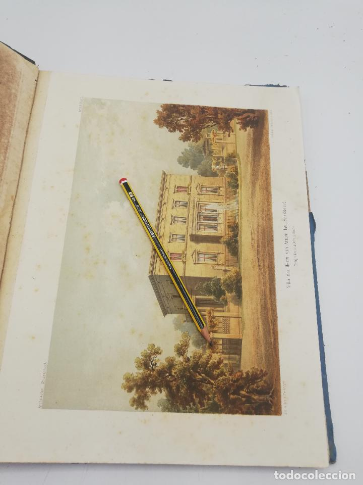 Libros antiguos: L´ARCHITECTURE ALLEMANDE AU XIX SIECLE. RECUELL DE MASIONS DE VILLE ET DE CAMPAGNE. 9 TOMOS.VER.LEER - Foto 128 - 267903714