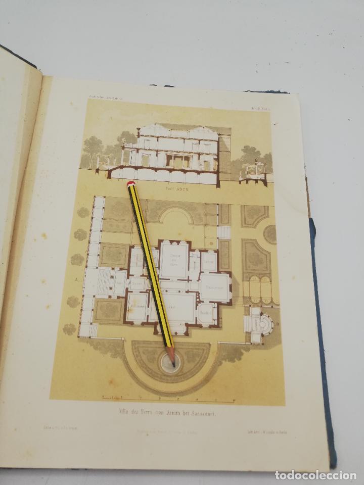 Libros antiguos: L´ARCHITECTURE ALLEMANDE AU XIX SIECLE. RECUELL DE MASIONS DE VILLE ET DE CAMPAGNE. 9 TOMOS.VER.LEER - Foto 129 - 267903714