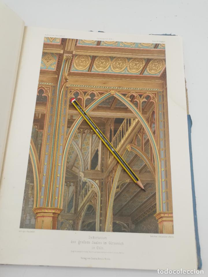 Libros antiguos: L´ARCHITECTURE ALLEMANDE AU XIX SIECLE. RECUELL DE MASIONS DE VILLE ET DE CAMPAGNE. 9 TOMOS.VER.LEER - Foto 132 - 267903714
