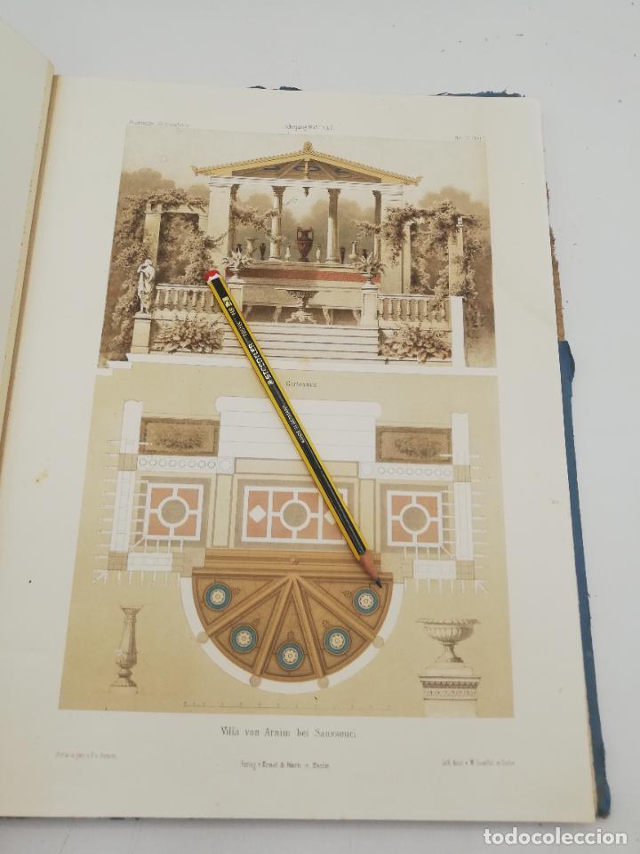 Libros antiguos: L´ARCHITECTURE ALLEMANDE AU XIX SIECLE. RECUELL DE MASIONS DE VILLE ET DE CAMPAGNE. 9 TOMOS.VER.LEER - Foto 133 - 267903714