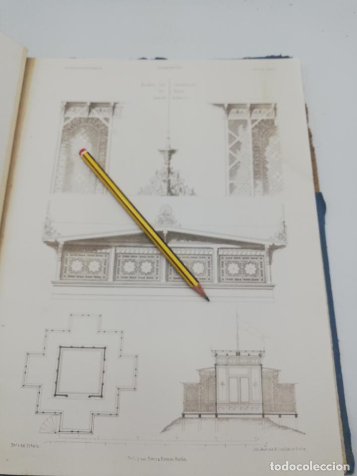 Libros antiguos: L´ARCHITECTURE ALLEMANDE AU XIX SIECLE. RECUELL DE MASIONS DE VILLE ET DE CAMPAGNE. 9 TOMOS.VER.LEER - Foto 137 - 267903714