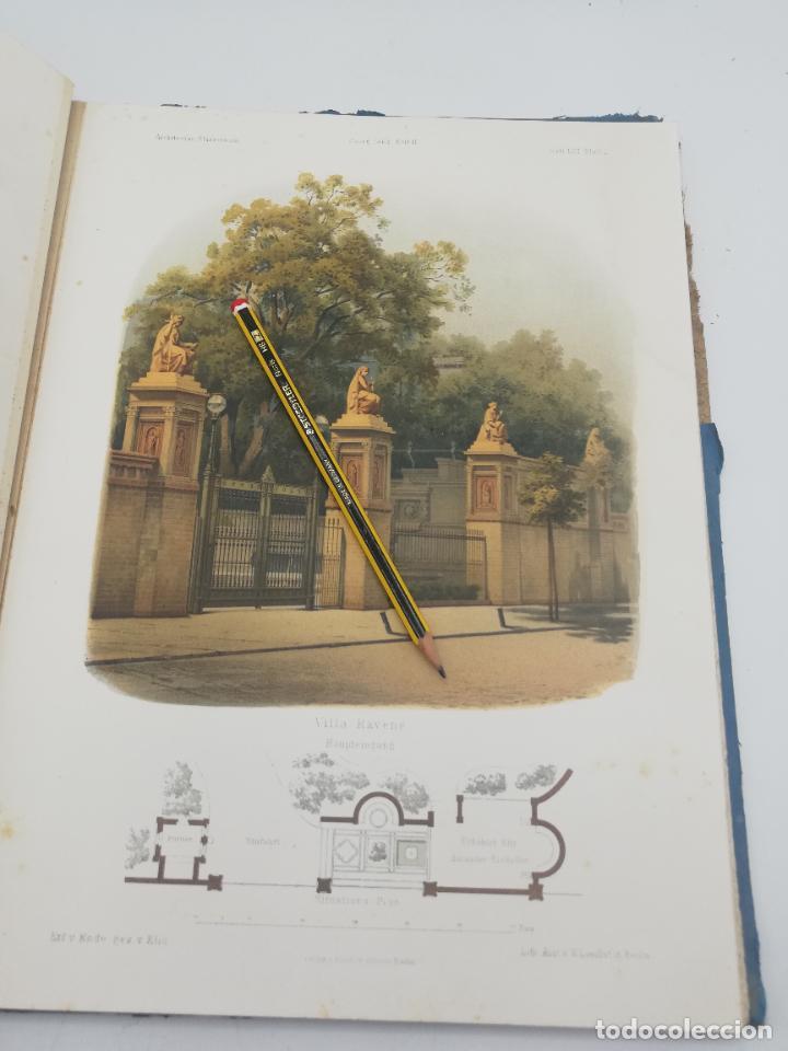 Libros antiguos: L´ARCHITECTURE ALLEMANDE AU XIX SIECLE. RECUELL DE MASIONS DE VILLE ET DE CAMPAGNE. 9 TOMOS.VER.LEER - Foto 138 - 267903714