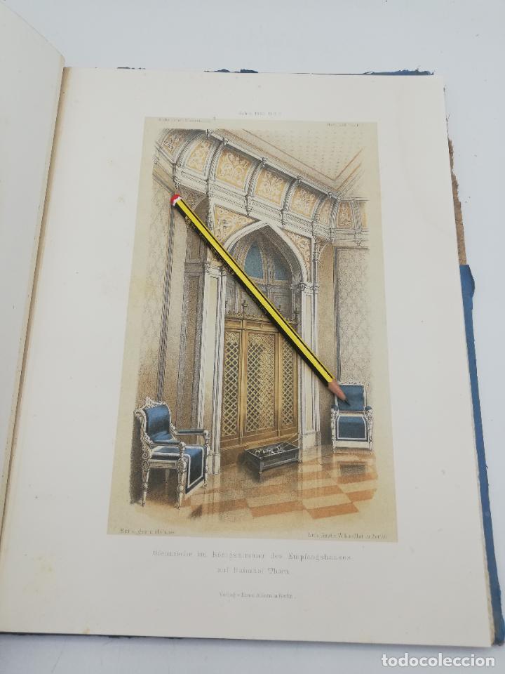 Libros antiguos: L´ARCHITECTURE ALLEMANDE AU XIX SIECLE. RECUELL DE MASIONS DE VILLE ET DE CAMPAGNE. 9 TOMOS.VER.LEER - Foto 139 - 267903714