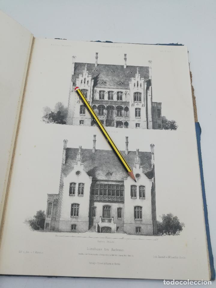 Libros antiguos: L´ARCHITECTURE ALLEMANDE AU XIX SIECLE. RECUELL DE MASIONS DE VILLE ET DE CAMPAGNE. 9 TOMOS.VER.LEER - Foto 142 - 267903714