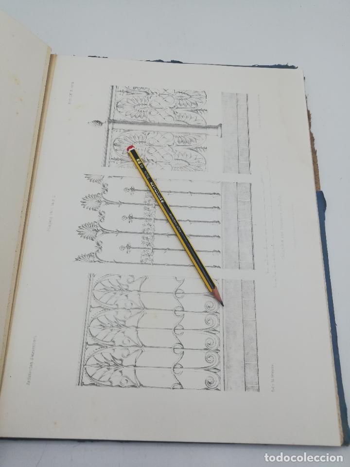 Libros antiguos: L´ARCHITECTURE ALLEMANDE AU XIX SIECLE. RECUELL DE MASIONS DE VILLE ET DE CAMPAGNE. 9 TOMOS.VER.LEER - Foto 143 - 267903714