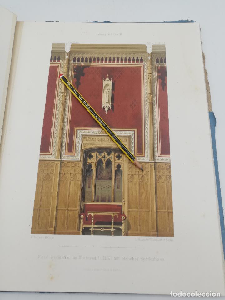 Libros antiguos: L´ARCHITECTURE ALLEMANDE AU XIX SIECLE. RECUELL DE MASIONS DE VILLE ET DE CAMPAGNE. 9 TOMOS.VER.LEER - Foto 144 - 267903714